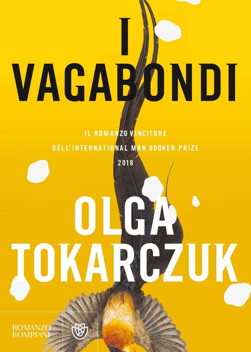 La cpertina del libro I vagabondi del'autrice polacca Olga Tocarczuk