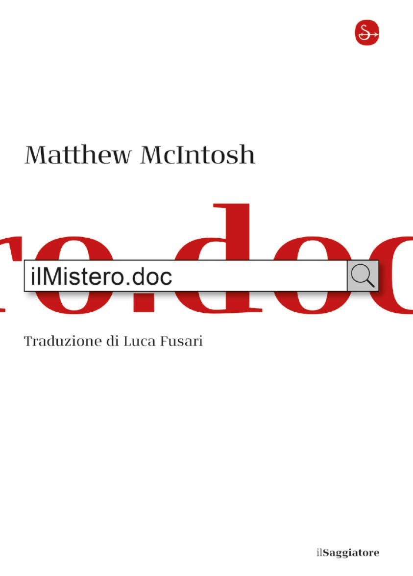 ilMistero.doc - Matthew McIntosh - Libri Gennaio 2020